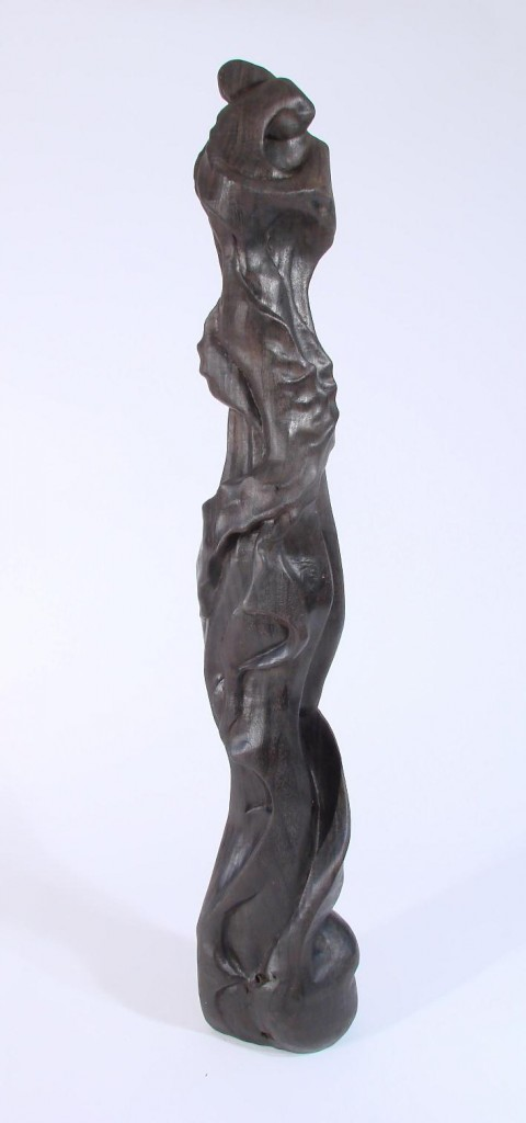 "Figures Walnut 48"" x 8"" x 8"" Walnut"