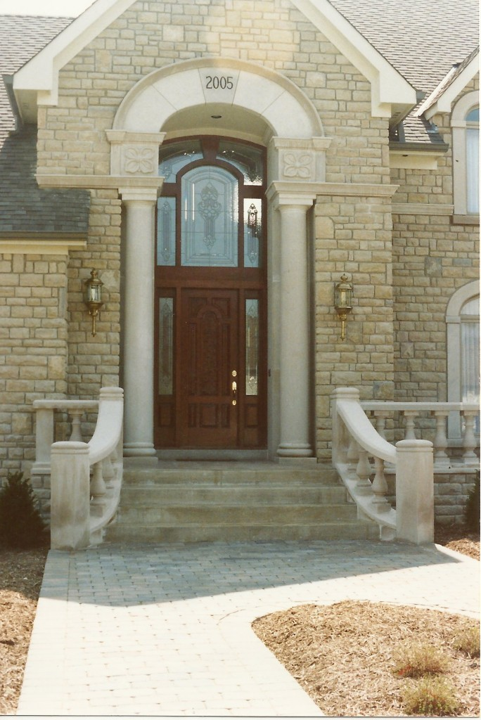 Indiana LimestoneThese dogwoods were my first stone commission.
