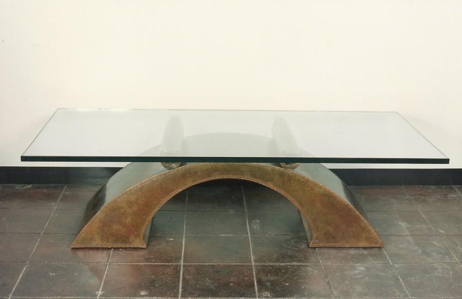 """Original Design by Dale JohnsonBronze, Copper, Glass70"""" x 32 1/2"""" x 20"""""""