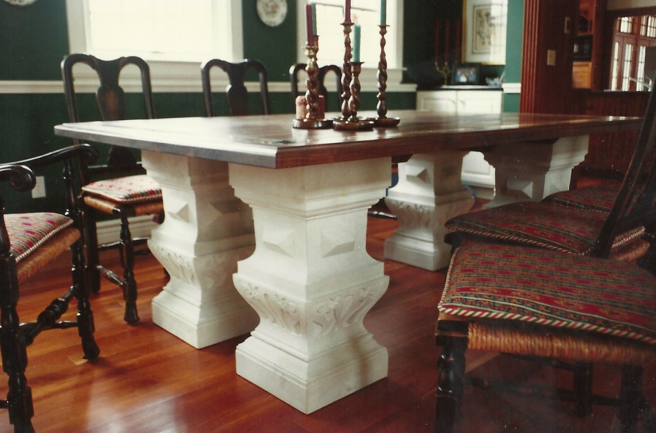 Original Design by Dale JohnsonKansas Limestone, Walnut, Marble