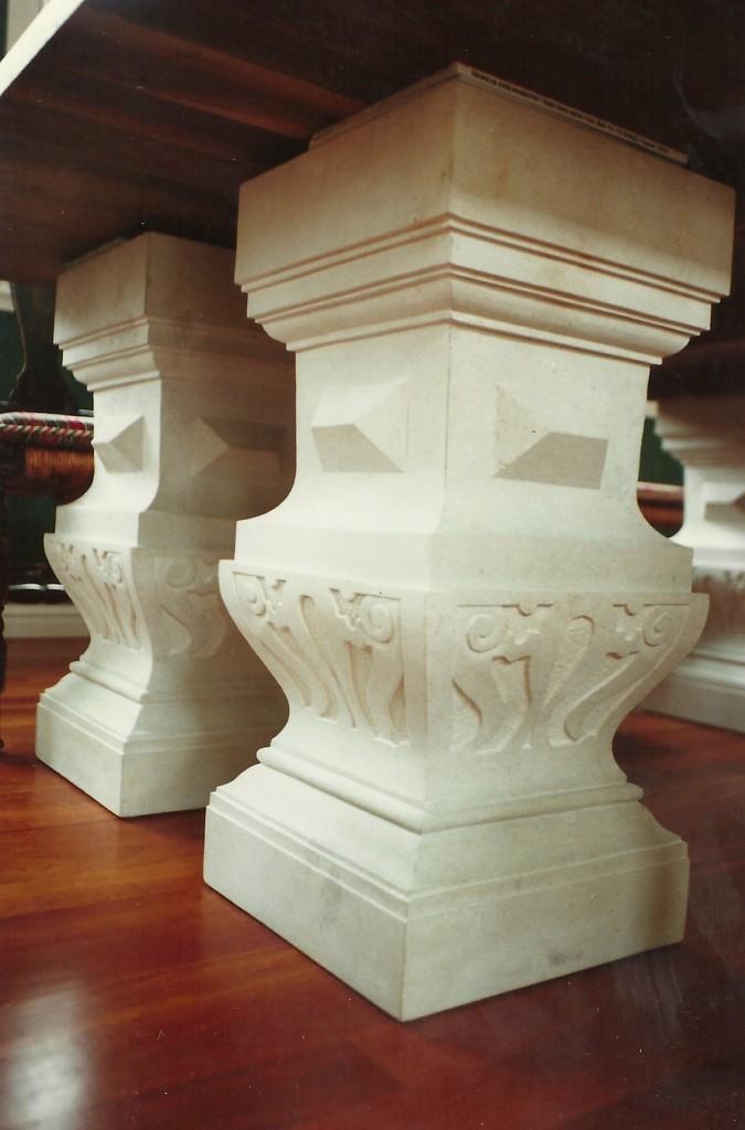 Original Design by Dale JohnsonKansas Limestone, Walnut, Marble