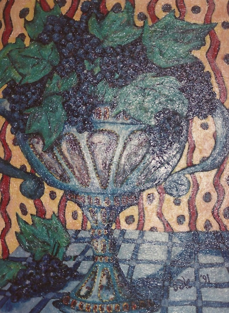 """Acrylic on Canvas 42"""" x 30"""""""