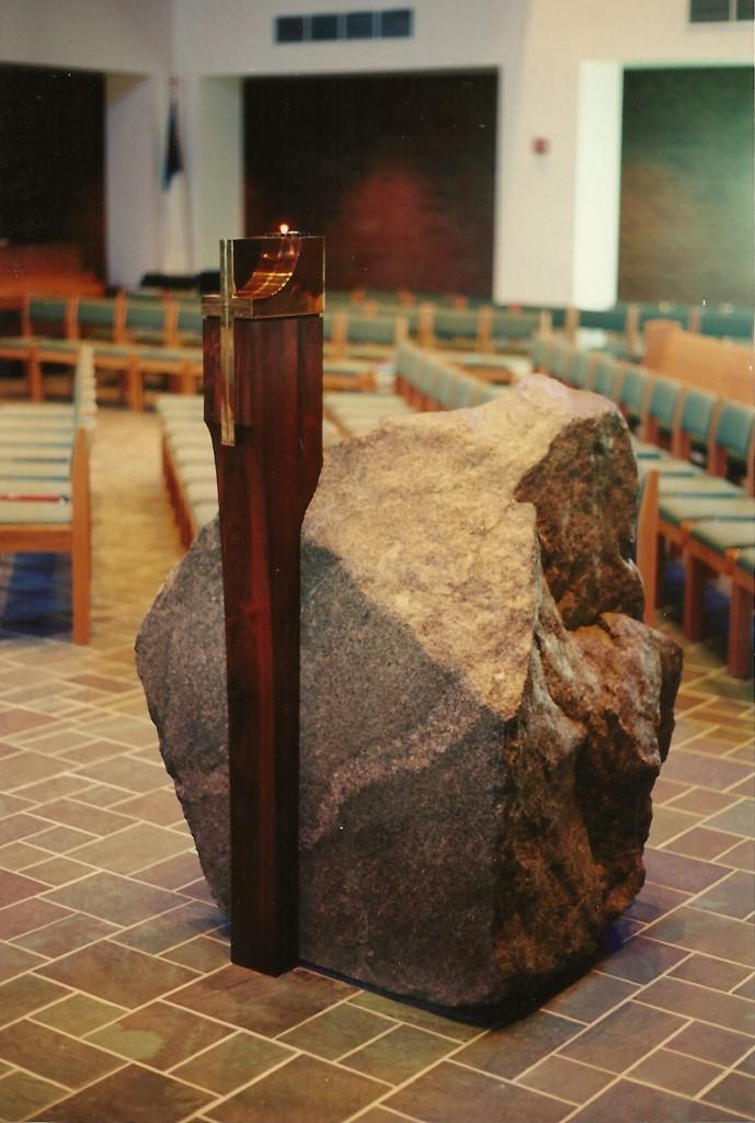 Designed by architect Phil MarkwoodGranite, Polished Bronze, Brazilian Rosewood