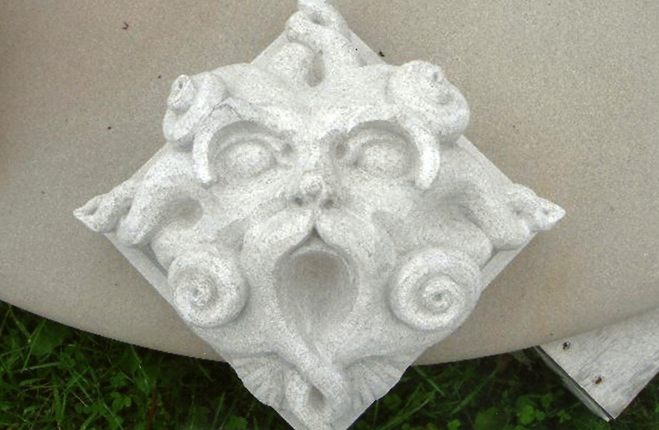 Carved by Matthew Palmer in association with Dale JohnsonIndiana Limestone