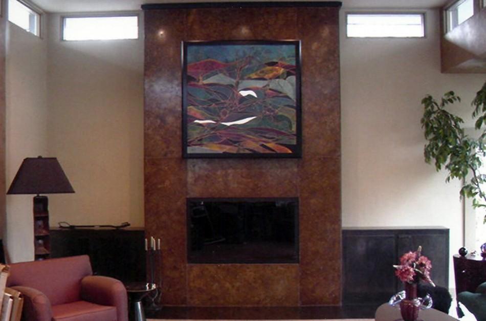 Original Design by Dale JohnsonBronze over Wood, Patina