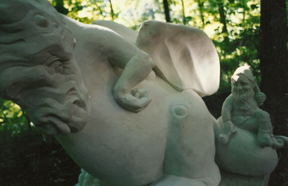 Indiana LimestoneCarved by Matthew Palmer in association with Old World Stone Carving.
