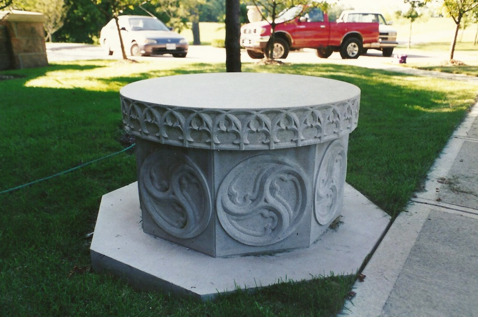 Original Design by Dale JohnsonIndiana Limestone