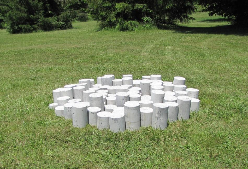 Circle Cast Concrete Dimensions Variable