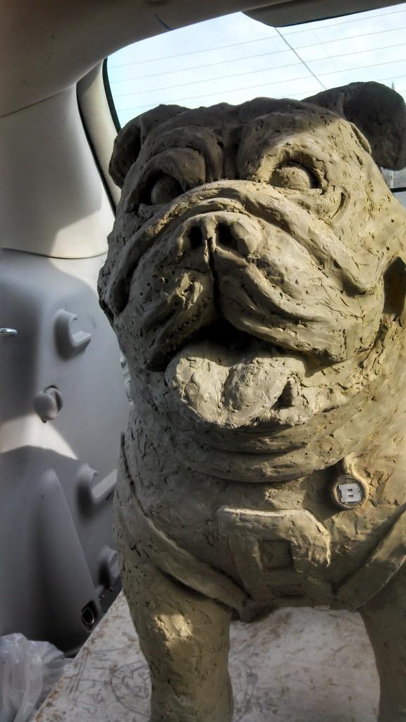 Butler Memorial Bulldog