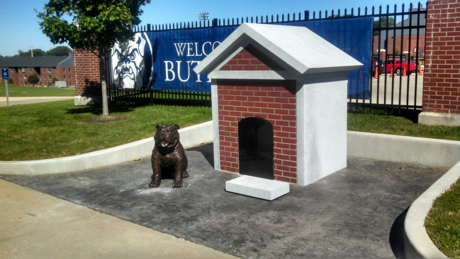Butler Memorial Bulldog