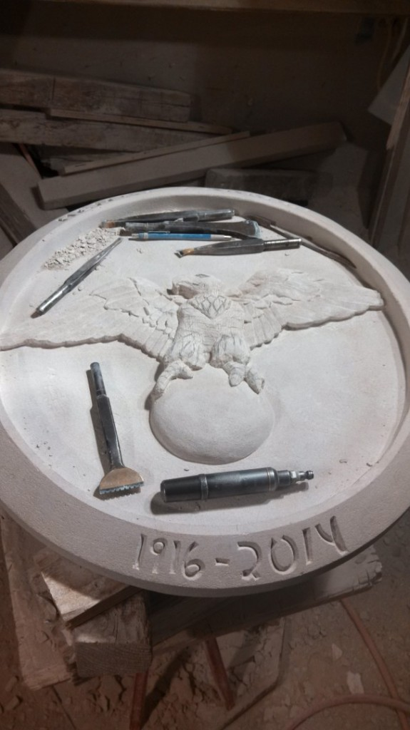 "Indiana Limestone 2 1/4"" x 30"" x 30"""