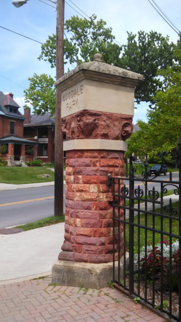 I used to live across the street from this column over twenty years ago and have wanted to redo it ever since.